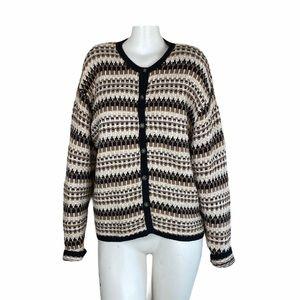 Paul Harris Cardigan Sweater Vintage Sz L